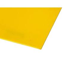 Chapa de Poliestireno (PS) - Amarelo - 2,00 x 1,00 mts